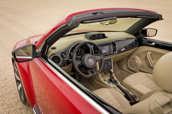 VW Beetle Convertible 2013 – официальный релиз