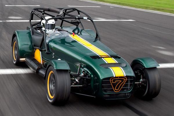 Superlight R600 – самый быстрый спорткар Caterham