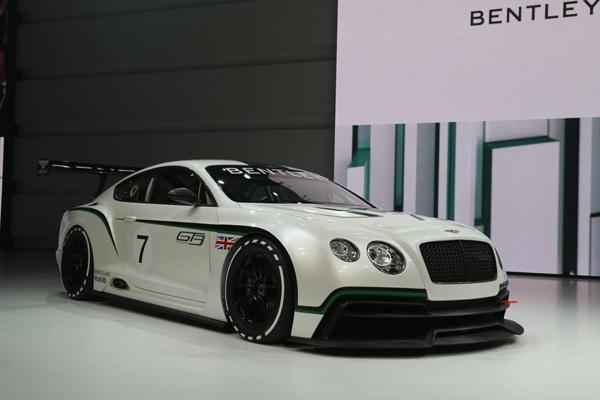 Bentley выпустит дорожный спорткар Continental GT3