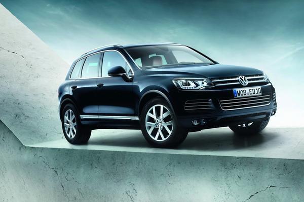Volkswagen выпустит спецверсию Touareg Edition X