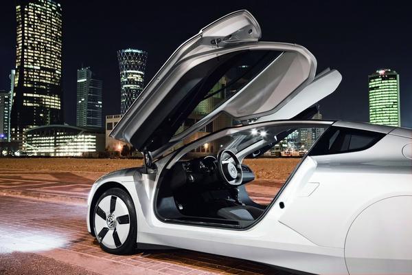 Volkswagen XL1 Diesel-Electric Hybrid сняли шпионы