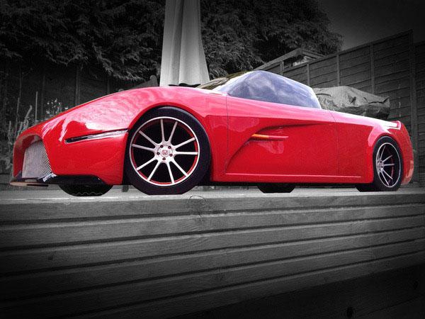 Honda Sports Ute - концепт британского студента