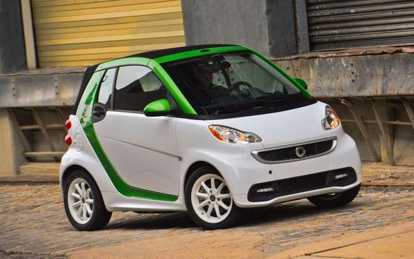 Стали известны цены на электрокар Smart ForTwo
