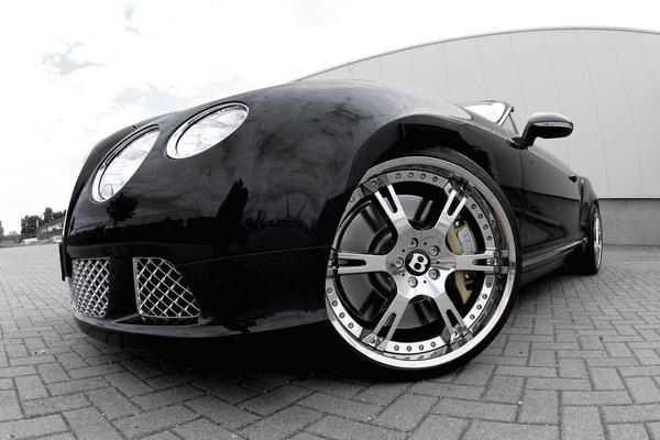 Wheelsandmore «подзарядит» Bentley Continental GT