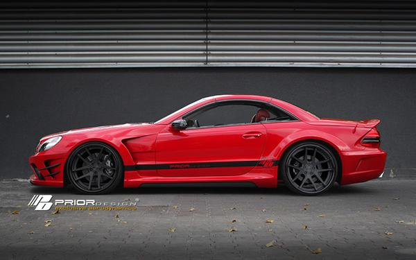 Mercedes-Benz SL Black Edition V2 от Prior Design