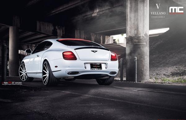 Bentley Continental от MC Customs и Vellano Wheels