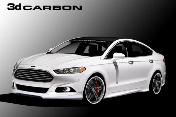 Ford привезет четыре тюнингованных Fusion на SEMA