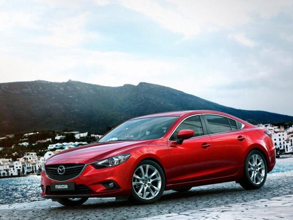 Объявлены рублевые цены на новый седан Mazda 6