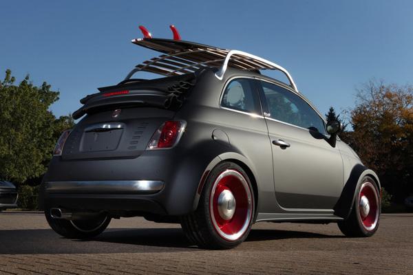 На выставке SEMA покажут FIAT 500 Beach Cruiser