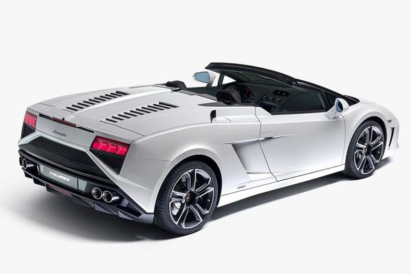 Lamborghini Gallardo Spyder 2013 - первые фото