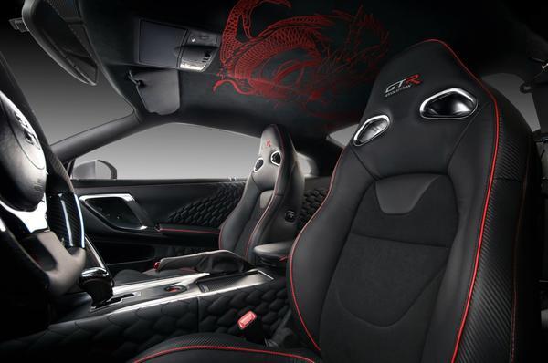 Неповторимый Nissan GT-R Dragon Edition от Vilner