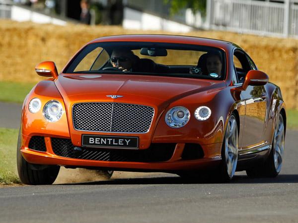 Bentley Continental GT Speed получит более 600 л. с.
