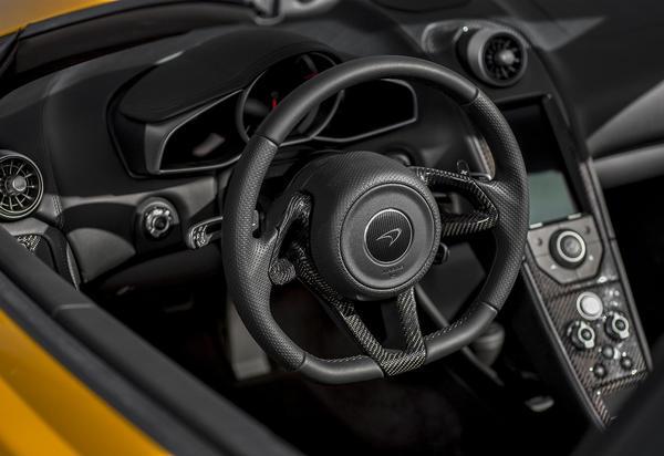 Технические характеристики McLaren MP4-12C Spider