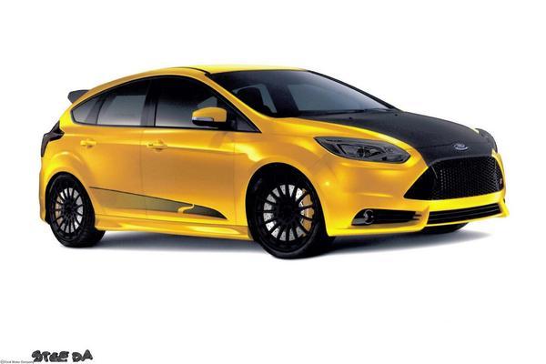 Ford привезет на SEMA пять тюнингованых Focus ST