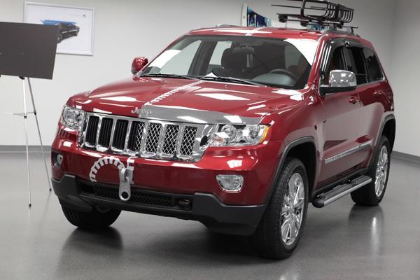 Mopar доработал половину Jeep Grand Cherokee