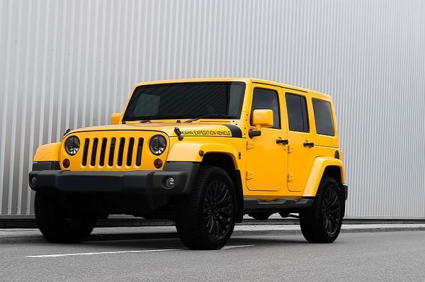 А. Kahn Design приукрасил Jeep Wrangler Sahara