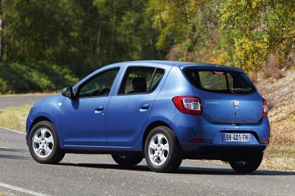 Dacia огласила британские цены на новый Sandero