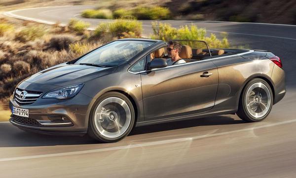 Новые данные о кабриолете Vauxhall (Opel) Cascada