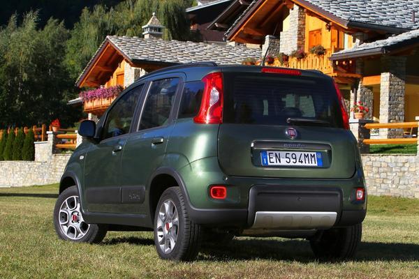 FIAT представил модели Panda 4x4 и Panda Trekking
