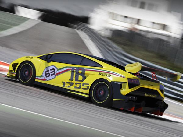 Lamborghini показала Gallardo LP570-4 Super Trofeo