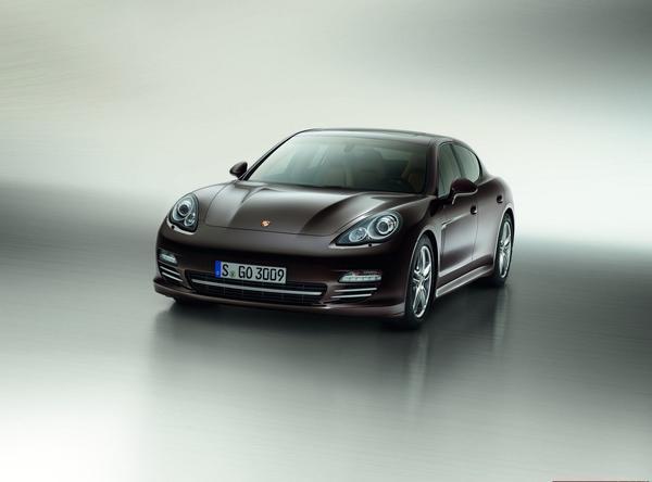 Porsche Panamera обрел версию Platinum Edition