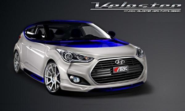 Hyundai привезет на SEMA Veloster Alpine от ARK