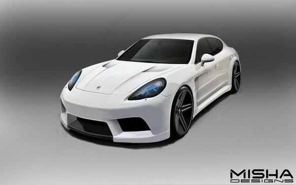 Misha Designs готовит «обвес» для Porsche Panamera
