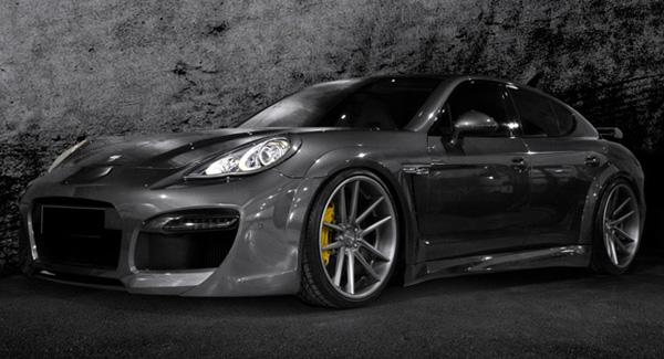 Porsche Panamera Turbo S в тюнинге Carlex Design