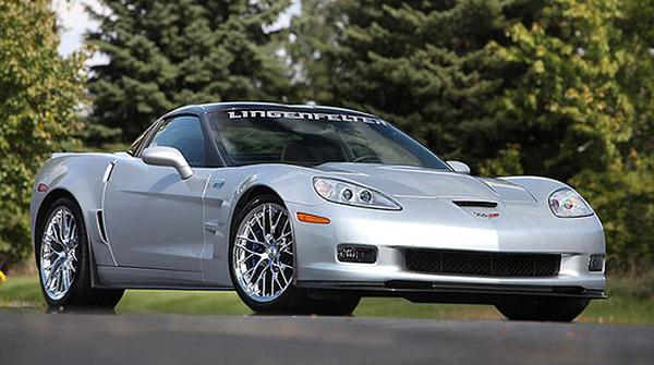 Lingenfelter «зарядил» Chevrolet Corvette ZR1