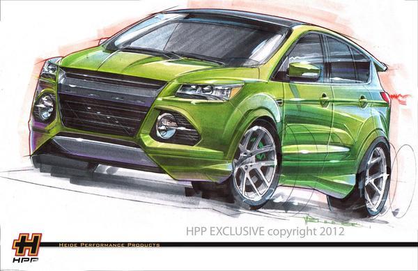 Тюнингованные внедорожники Ford покажут на SEMA