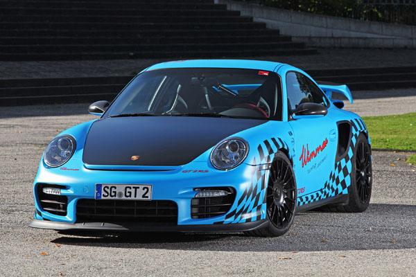 1020-сильный Porsche GT2 RS от Wimmer RS