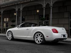 Bentley Continental GTC снабдили дисками Modulare