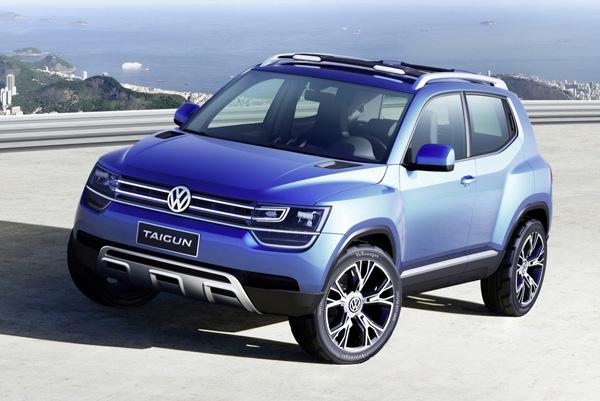 Volkswagen показал концептуальный кроссовер Taigun