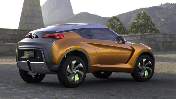 Nissan представил концептуальный кроссовер Extrem