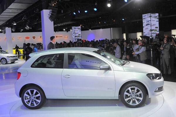 VW анонсировал трехдверный Gol для Бразилии
