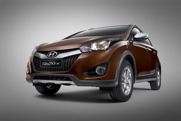 В Бразилии показали кроссовер Hyundai HB20X
