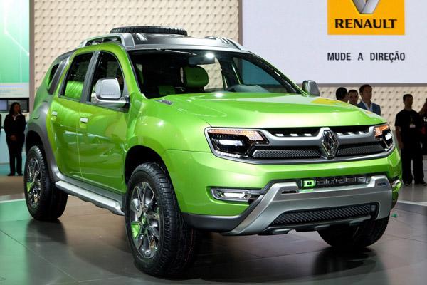Renault превратил Duster в стильный DCross
