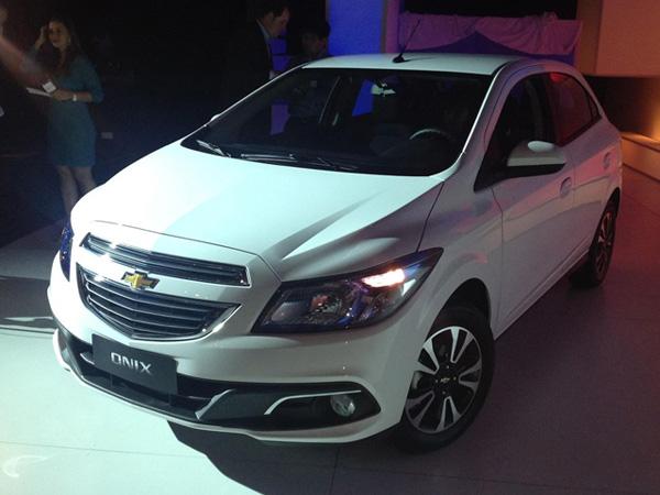 Chevrolet Onix - новая малолитражка для Бразилии