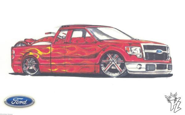 Ford покажет на SEMA тюнингованные пикапы F-серии