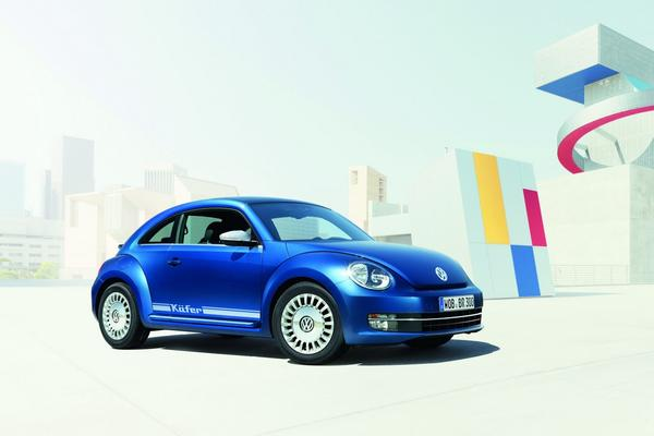 Volkswagen выпустил спецверсию Beetle Remix