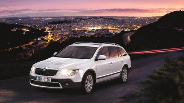 Skoda представил универсал Superb Estate Outdoor