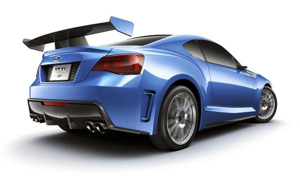 Subaru работает над турбированным BRZ Turbo