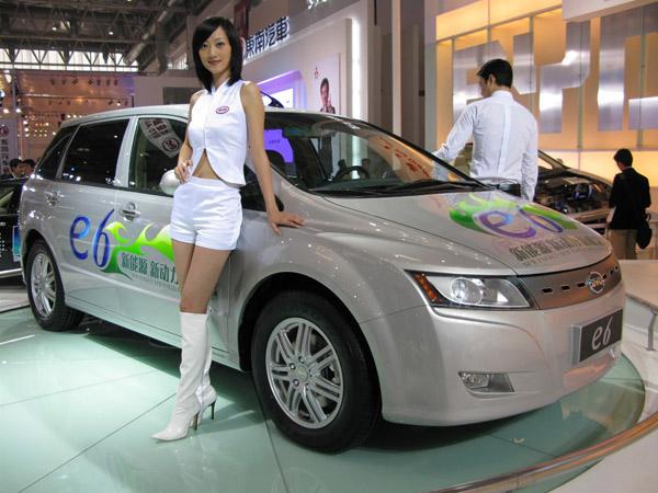 Новым лондонским такси станет электрокар BYD e6