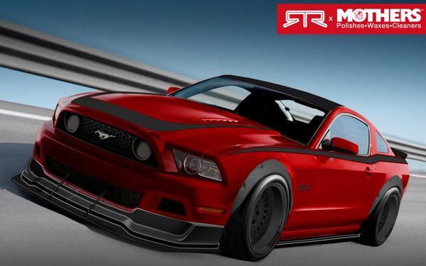 Четыре тюнингованных Ford Mustang покажут на SEMA