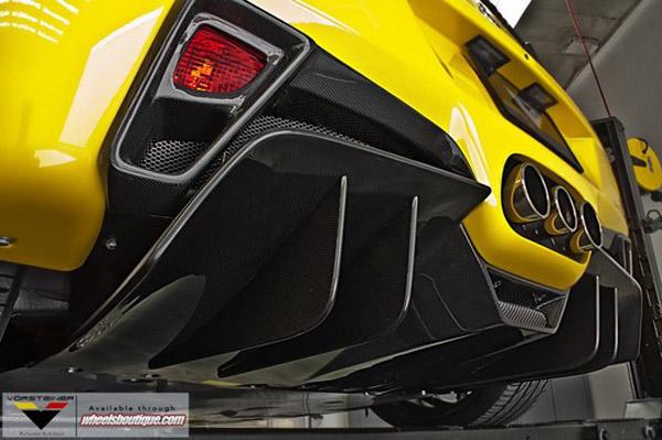 Vorsteiner доработал суперкар Ferrari 485 Italia