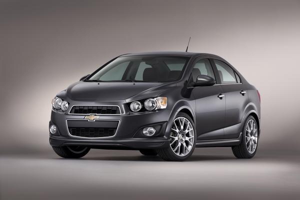 Chevrolet привезет на SEMA роскошную версию Sonic