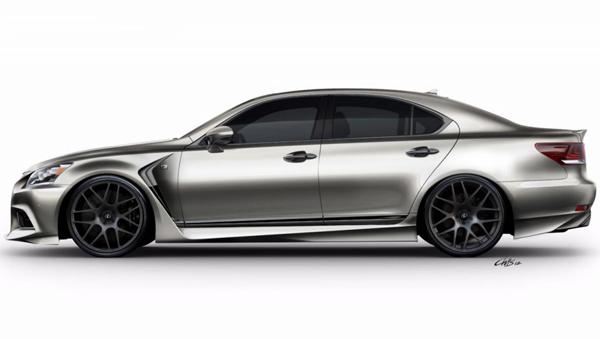 В Лас-Вегасе покажут Lexus LS F SPORT от Five Axis