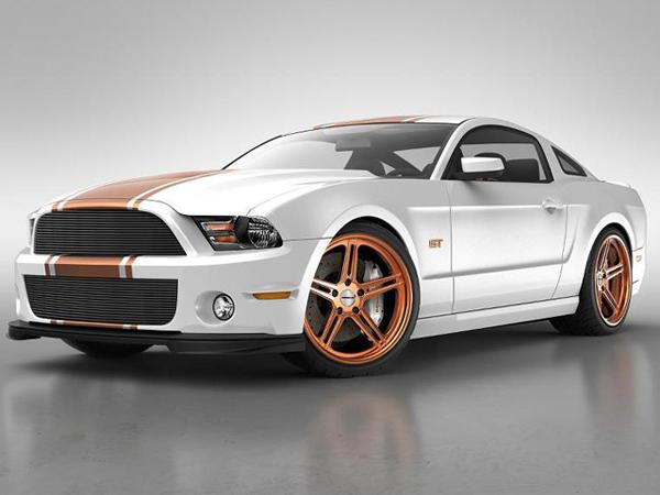 Whiteside Customs «зарядил» Ford Mustang GT 2013