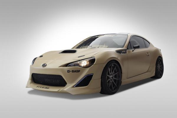 Toyota покажет тюнингованные Scion FR-S на SEMA