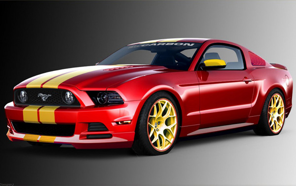 Ford Mustang Boy Racer от 3dCarbon